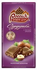 СУДАРУШКА® Молочный шоколад Тест1 190г
