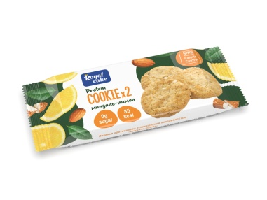 """Печенье  с пониженной калорийностью """"миндаль-лимон"""""""
