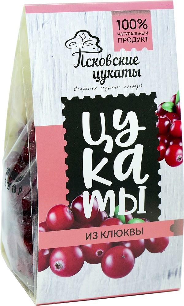 цукаты из клюквы Псковские Цукаты 120 гр.